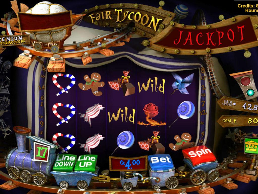 Online casino automat Fair Tycoon zdarma