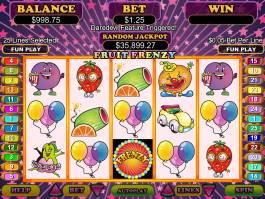 Obrázek z casino automatu Fruit Frenzy