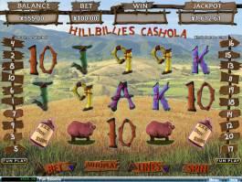 Online herní automat Hillbillies Cashola zdarma
