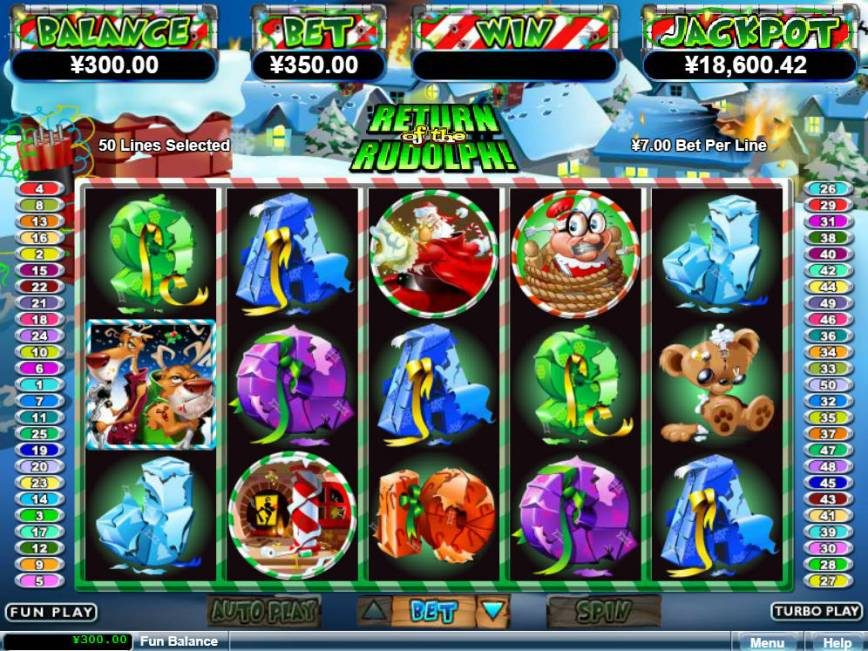 Online casino automatu Return of the Rudolph