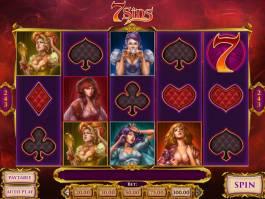 Zahrajte si online casino automat 7 Sins zdarma