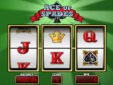 Obrázek z online casino automatu Ace of Spades