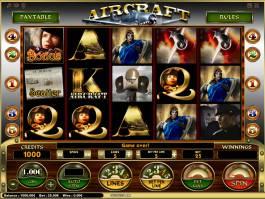 Obrázek casino automatu Aircraft