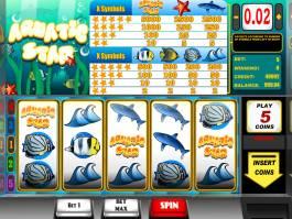 Online casino automat Aquatic bez vkladu