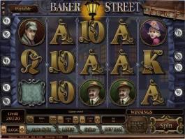 Obrázek online casino automatu Baker Street