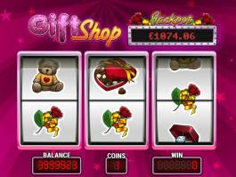 Online casino automat Gift Shop zdarma