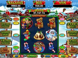 Casino automat Santastic zdarma