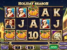 Casino automat Holiday Season zdarma