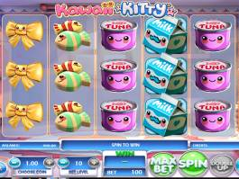 Casino automat Kawaii Kitty bez vkladu