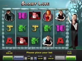Výherní automat Bloody Love zdarma, bez registrace