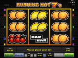 Online casino automat Burning Hot 7's zdarma