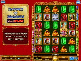 Online casino automat Da Vinci Diamonds DualPlay