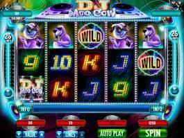 Online casino automat DJ Moo Cow