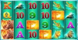 Casino automat Raging Rhino bez vkladu