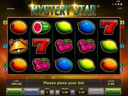 Casino automat Mystery Star zdarma