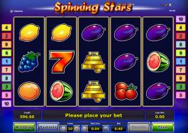 Online casino automat zdarma Spinning Stars