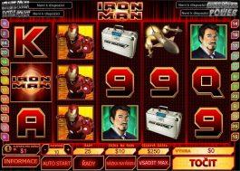 Online hrací automat Iron Man zdarma