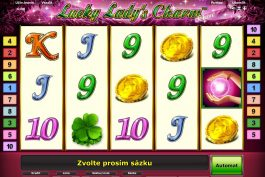 Obrázek online casino automatu Lucky Lady´s Charm