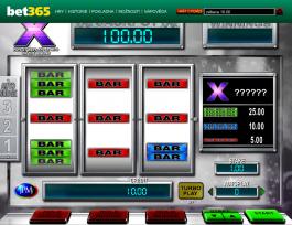 Casino automat Big X online