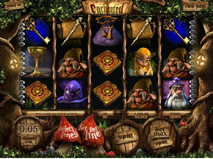Online casino automat Enchanted