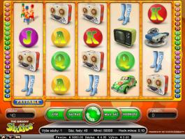 Herní casino automat Groovy 60s