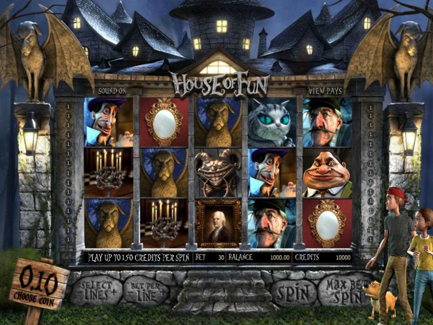 Online casino automat zdarma House of Fun