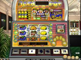 brázek výherního automatu Jackpot 6000 zdarma online