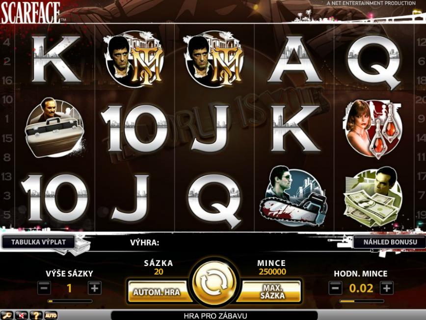 Casino hrací automat Scarface online