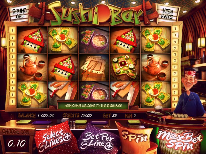 Online casino automat zdarma Sushi Bar