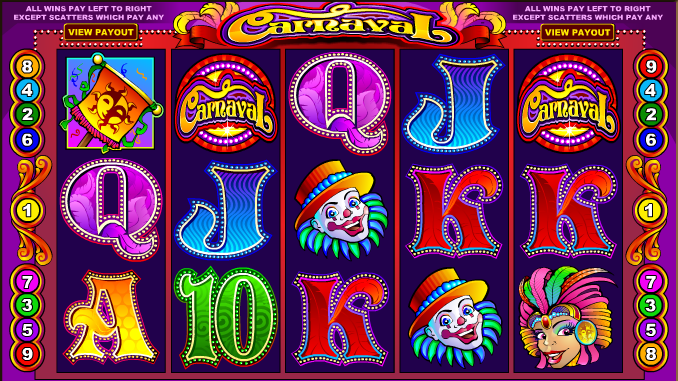 Hrací automat zdarma Carnaval