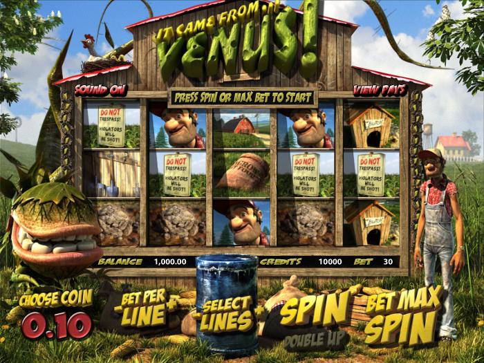 Herní casino automat It Came from Venus zdarma bez registrace