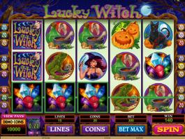 Hrací automat Lucky Witch bez registrace
