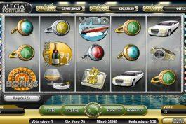 Hra automat Mega Fortune online zdarma