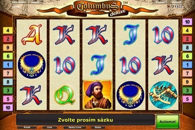 Obrázek online casino automatu Columbus Deluxe