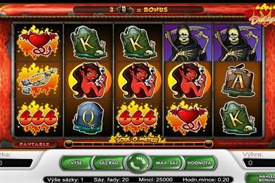 Online casino automat Devil´s Delight