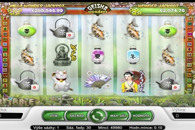 Hra automatu Geisha Wonders online zdarma