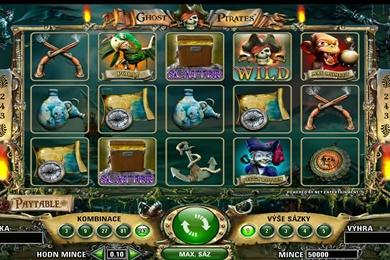 Výherní automat hra Ghost Pirates