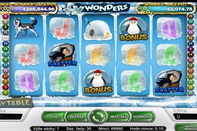 Hrací online automat zdarma Icy Wonders