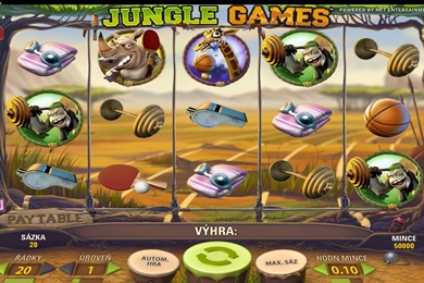 Obrázek online casino automatu Jungle Games zdarma
