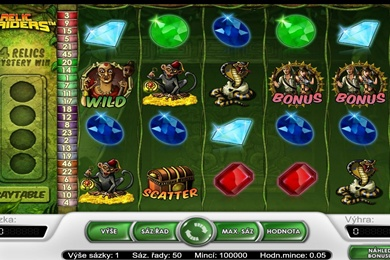 Herní online casino automat Relic Raiders